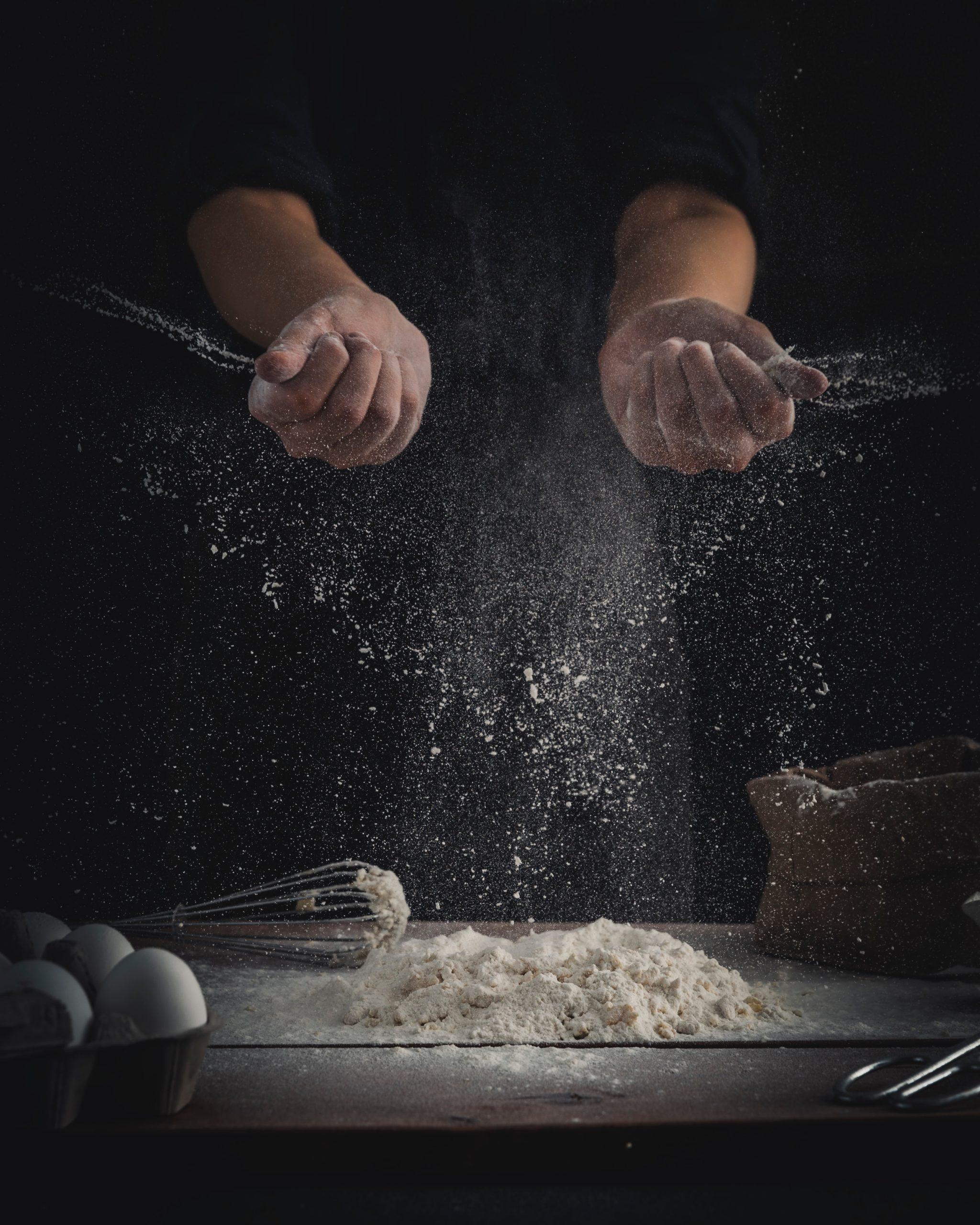 小麦粉 ピザ 生地